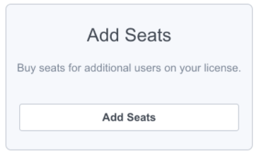 For Admins: How do I add seats to our license?