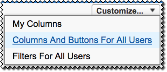 For Admins: How do I customize the layout for search results, list views, and related lists?